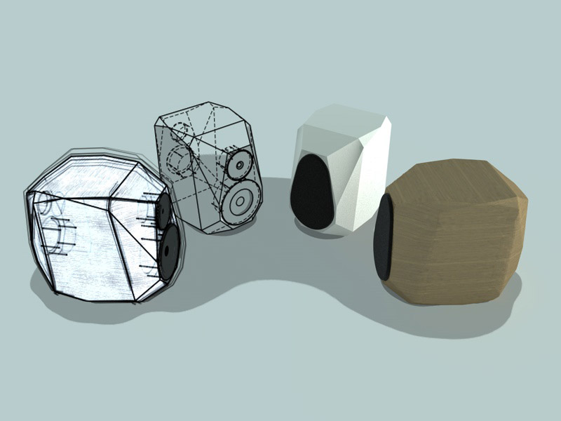 Sketch cinema 4d michele scarpellini architettura - Casse acustiche design ...