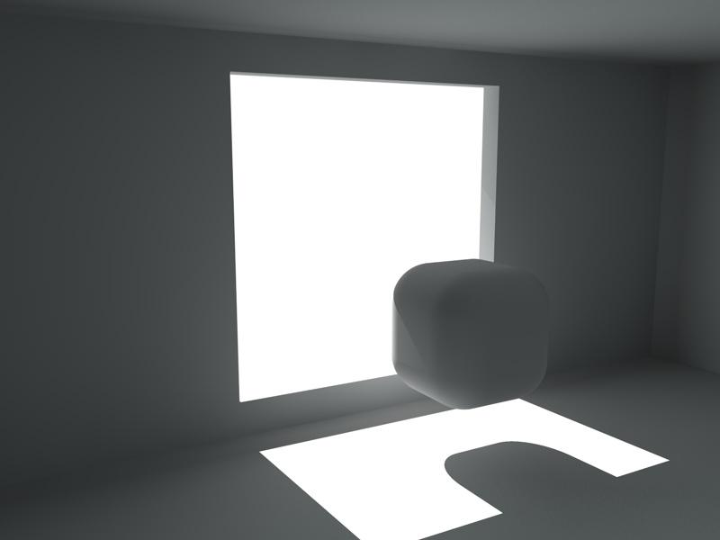 Illuminazione interni sfondo cielo e pavimento michele