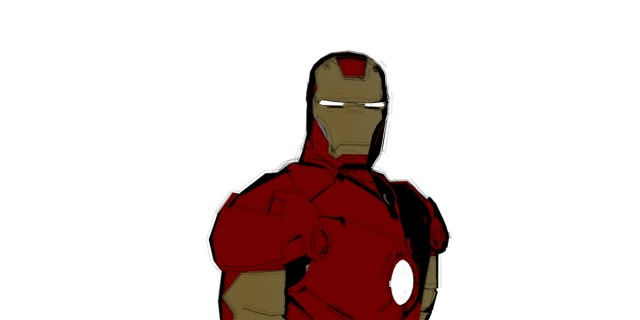 Ironman cartoon