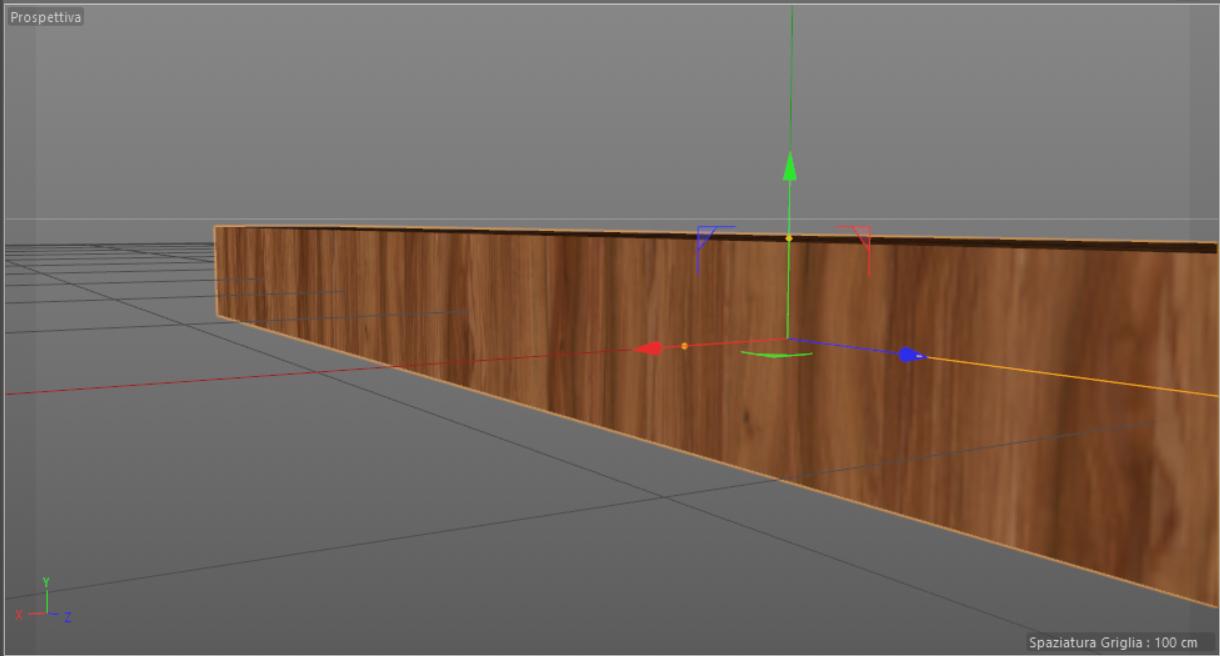 rendering errore legno