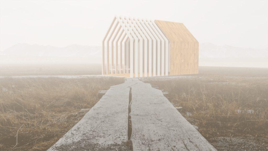 L'immagine Fig.01 è quello che otteniamo: ora una nebbia densa avvolge il nostro progetto.