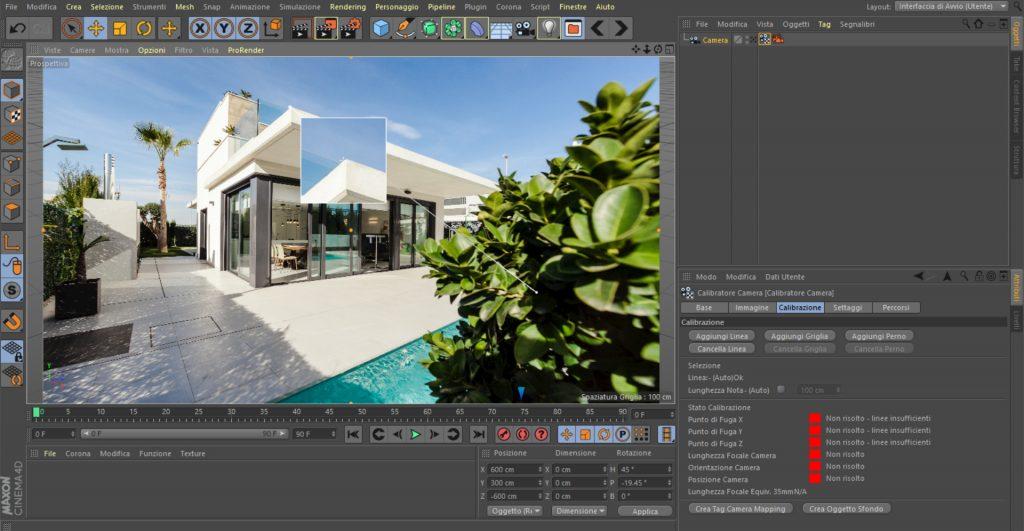 foto modellazione e relazione paesaggistica