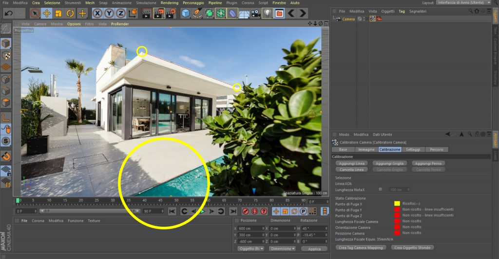 compositing e foto modellazione