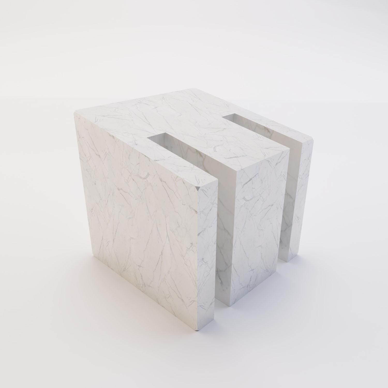 modulo marmo bianco statuario