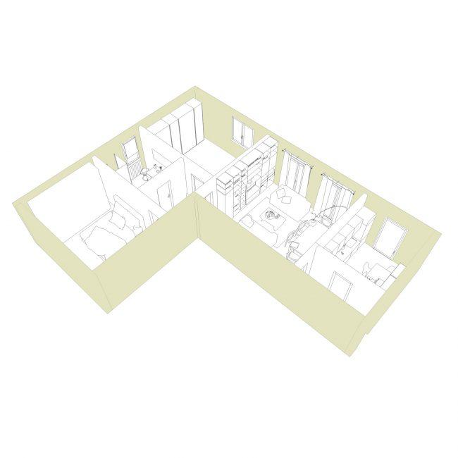 progetto abitazione privata a Brescia